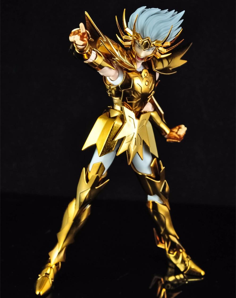 MC metalowe klub Saint Seiya moth tkaniny EX złoty raka maska śmierci model metalowa tkanina OCE edycja w Figurki i postaci od Zabawki i hobby na  Grupa 2