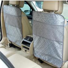Защитные чехлы на сиденье автомобиля коврик сиденье Задний защитный чехол для детей кик коврики грязечистка высокое качество водонепроницаемый