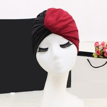 FGHGF 2018 Swim Pool flower Swimming Cap Hat for Women Bathing caps for Long Hairs splice Ear Protection Large Free size 2018 mix color flower women swimming cap for long hair ear protection swim caps lady womens girls swimwear pool hat large size