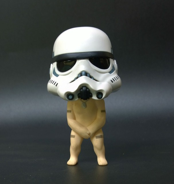 Nendoroid Storm Trooper Star Wars cute funny figure-in Action   Toy ... a67401379d