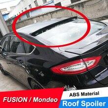 JNCFORURC задний оконный спойлер на крышу для Ford Mondeo Fusion 2013 14 15 16 17 абс пластиковый материал задний спойлер на крышу черный белый