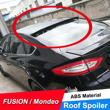 Jncforurc Rear Window Roof Spoiler For Ford Mondeo Fusion 2017 14 15 16 17 Abs Plastic