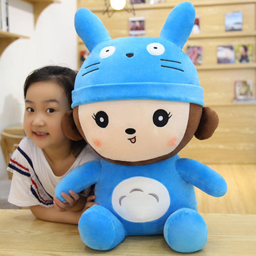 New Lovely Monkey Plush Toy Cute Animal Soft Stuffed Plush Toys Monos Peluche De Animales Birthday Gift For Children 70C0101