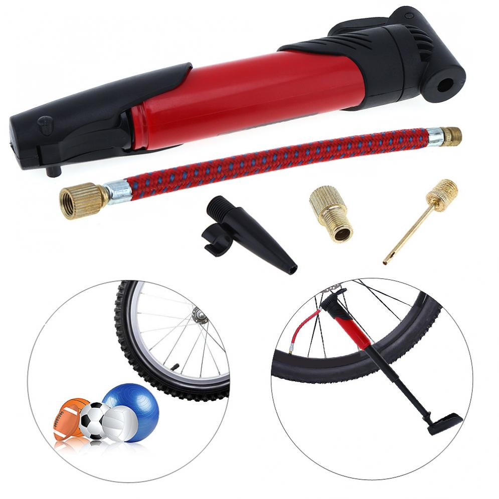 ## Multi-functional Portable Bicycle Cycling Bike Air Pump Tyre Tire Ball Tube