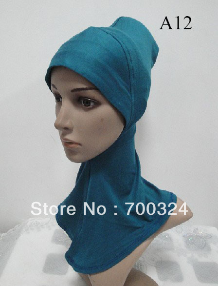 H367n latest design ninja underscarf mini hijab free shipping fast delivery assorted colors