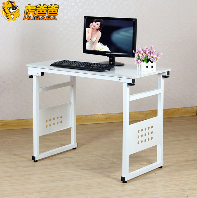 New Factory Direct Desktop Computer Desk Laptop Table Folding Table Simple  One Machine Home Office Desk