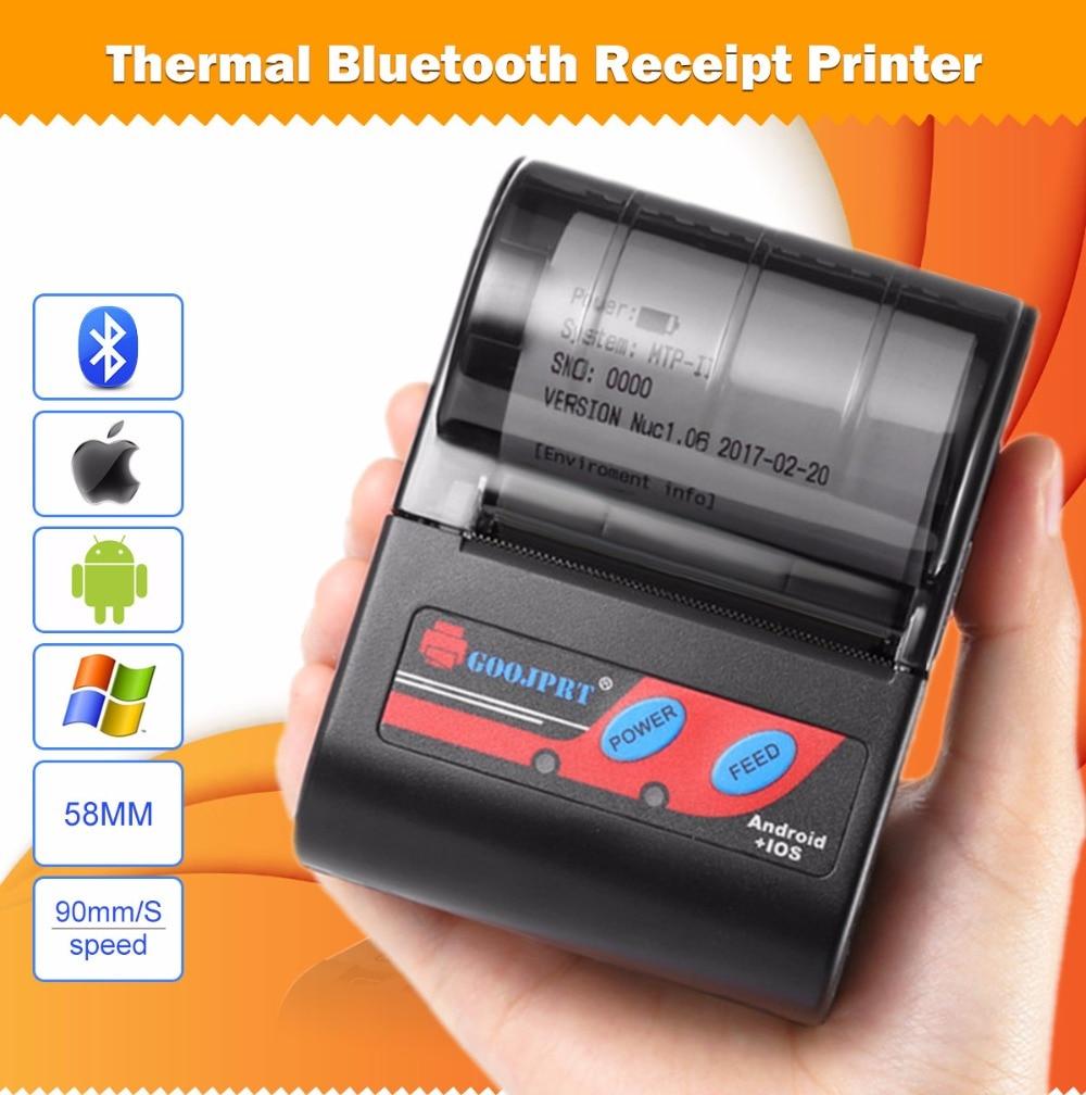 MTP 2 Bluetooth Mini wireless thermal printer portable printer (8)
