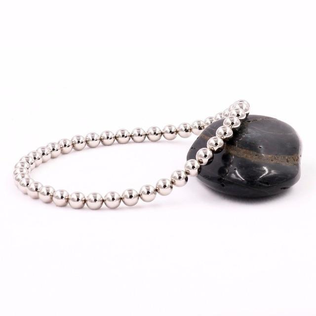 Bracelet Perle Argent