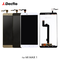 Original LCD Display For Xiaomi Mi Max 1 Touch Screen Digitizer no/with Frame Full Assembly Replacement 6.44' Black White Gold