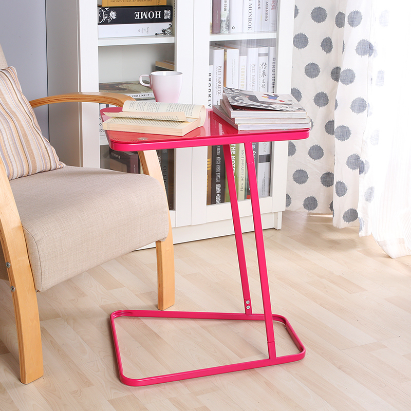 Bedside Table Watchthetrailerfo Chao Soil Creative Simple Easy Removable Laptop Desk Lazy Small