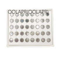 CR1220 battery OOLAPR(OOLAPR) 100PCS/lot CR1220 BR1220 KCR1220 DL1220 ECR1220 LM1220 3V Button Cell Coin Battery for Watch ,