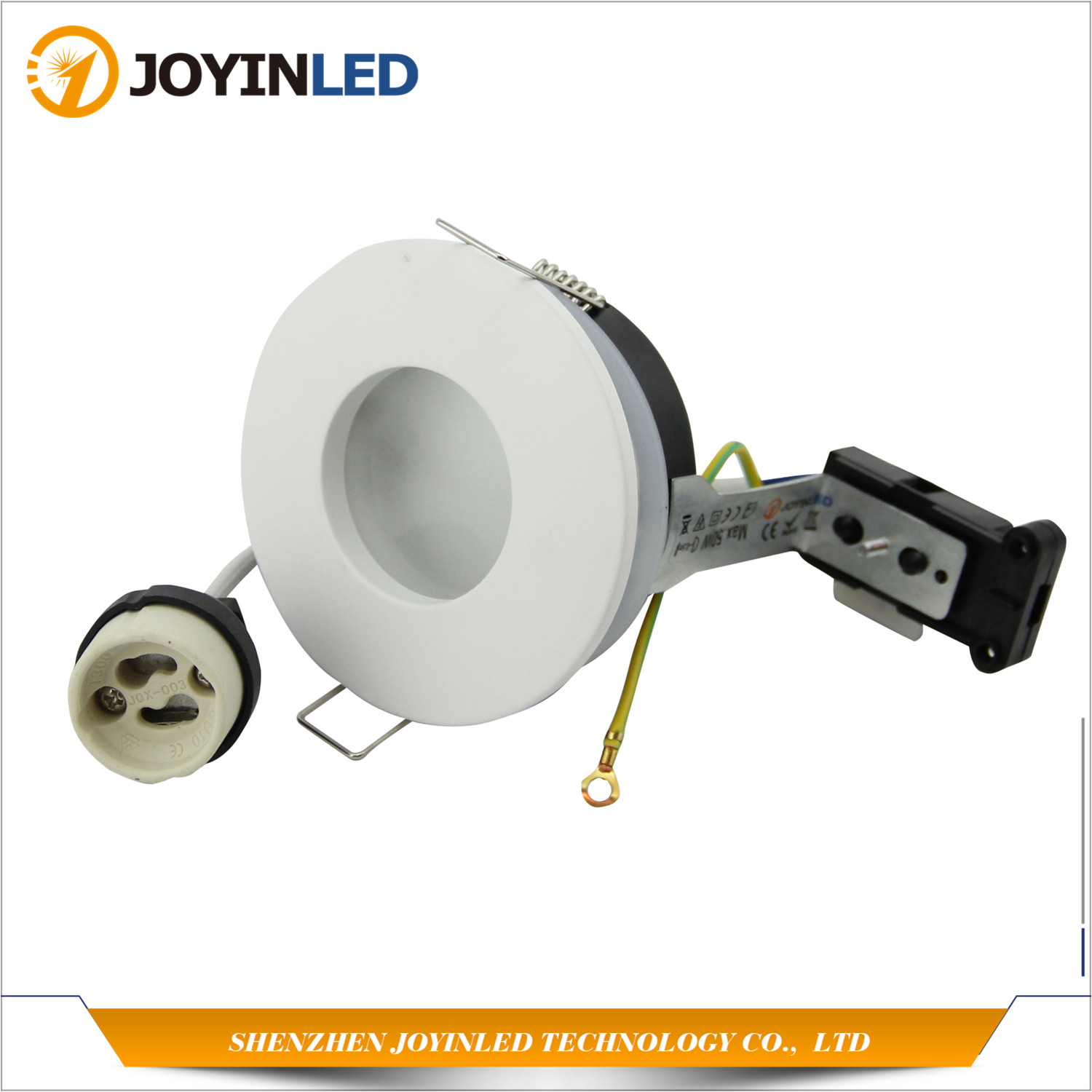 Free shipping Zinc Alloy IP65 Waterproof Round Fitting LED Downlight Kit Recessed Trim Fixture With GU10 BaseFree shipping Zinc Alloy IP65 Waterproof Round Fitting LED Downlight Kit Recessed Trim Fixture With GU10 Base