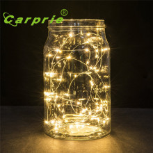 Super 2M 20LED Button Cell Powered Silver Copper Wire Mini Fairy String Lights