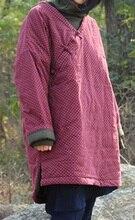 Выпуск продукта зимой 2015 года, оригинальный дизайн более свободно большие ярдов хлопка женщин хлопка-проложенный одежды
