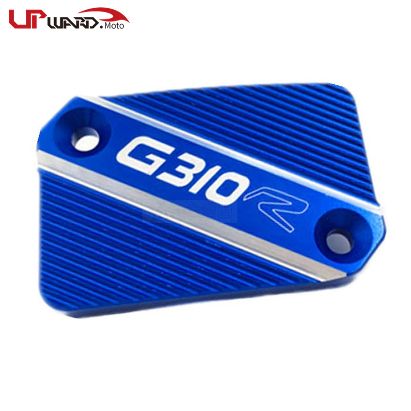 For <font><b>BMW</b></font> <font><b>G310R</b></font> G310 R G 310R 2017 2018 Motorcycle <font><b>Accessories</b></font> CNC Aluminum Front Brake Clutch Cylinder Fluid Reservoir Cover image