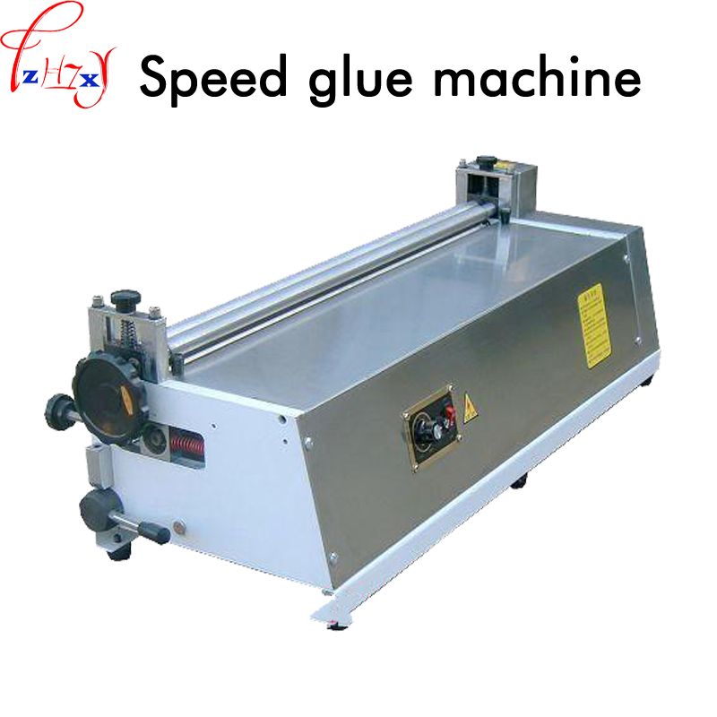 Настольная клеевая машина из нержавеющей стали, белая пластиковая бумага для кондиционирования воды на пластиковой машине 220 В 150 Вт