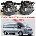 For FORD TRANSIT Platform Chassis 2006-2015   Car styling Fog lights halogen lamps 1set