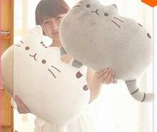 40 * 30 cm juguete Animal Pusheen Cat para la muchacha Kawaii lindo cojín Brinquedos peluches peluche muñeca hablando envío gratis
