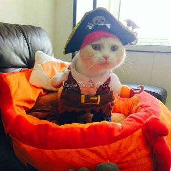 Grappige katten piraten kostuum 3