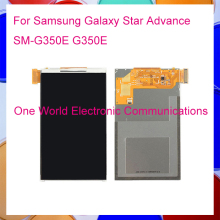Tested New LCD For Samsung Galaxy Star Advance SM-G350E G350E LCD Display Panel Screen Repair Parts Tracking NO Free Shipping