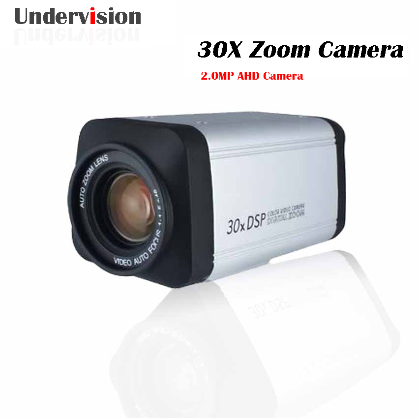 2.0MP AHD All in one camera  30X 3-90mm AHD 30X zoom box Camera ,with WDR ,Auto  IRIS DSP zoom Camera,2.0MP AHD  CCTV camera bullet camera tube camera headset holder with varied size in diameter