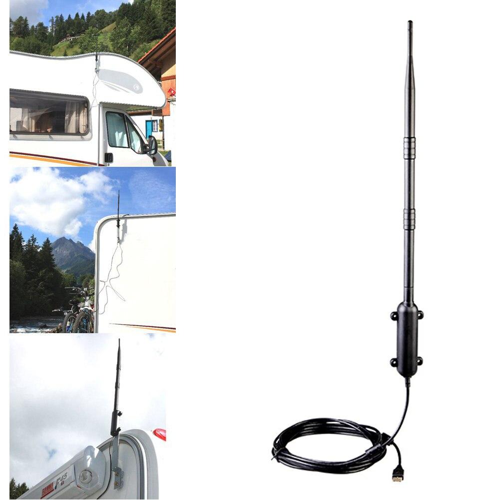 High Power 1000 M Outdoor WiFi USB Adapter WiFi Antenne 802.11b/g/n Signal Verstärker USB 2.0 Drahtlose Netzwerk karte Empfänger Heißer - 5
