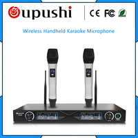 High quality conference microphone oupushi uhf wireless handheld microphone