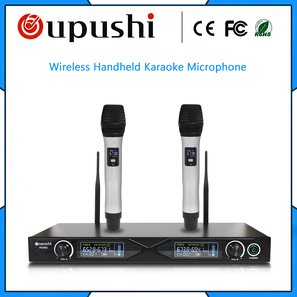 High quality conference microphone oupushi uhf wireless handheld microphoneHigh quality conference microphone oupushi uhf wireless handheld microphone