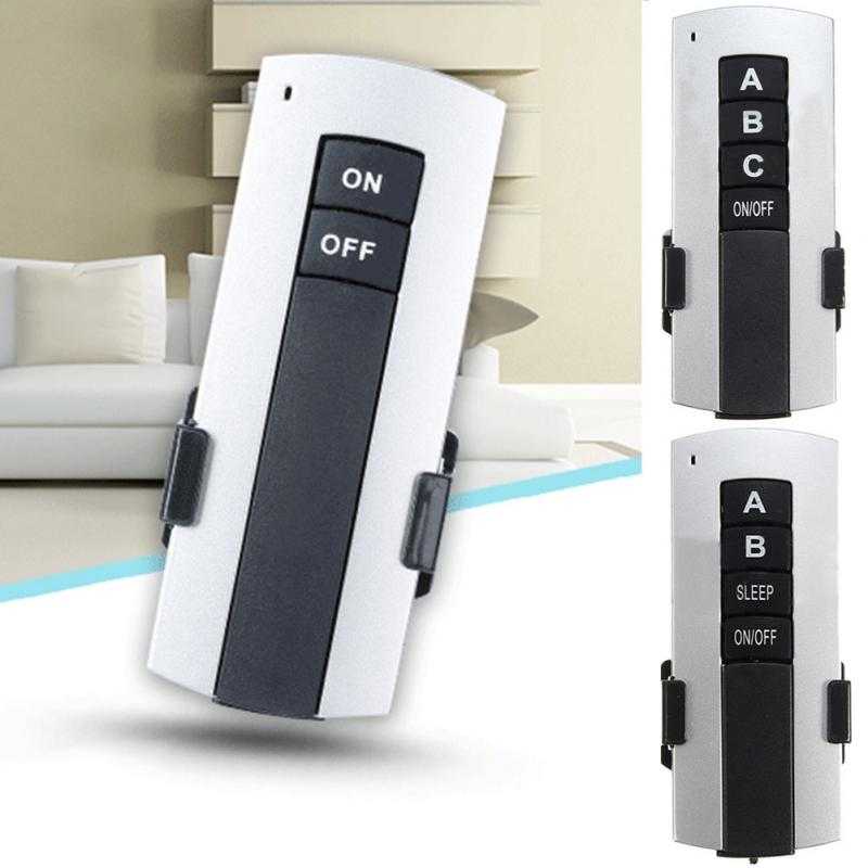 Receiver 1/2/3 Ways Remote Switch Wireless ON/OFF LED Ceiling Lamp 200V-240V Single Channel Light Remote Switch