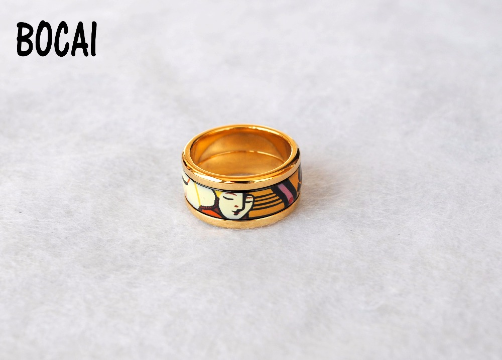 Fashion Ring Ring Austrian style jewelry cloisonne enamel cloisonne jewelry enamel round ring european and american style