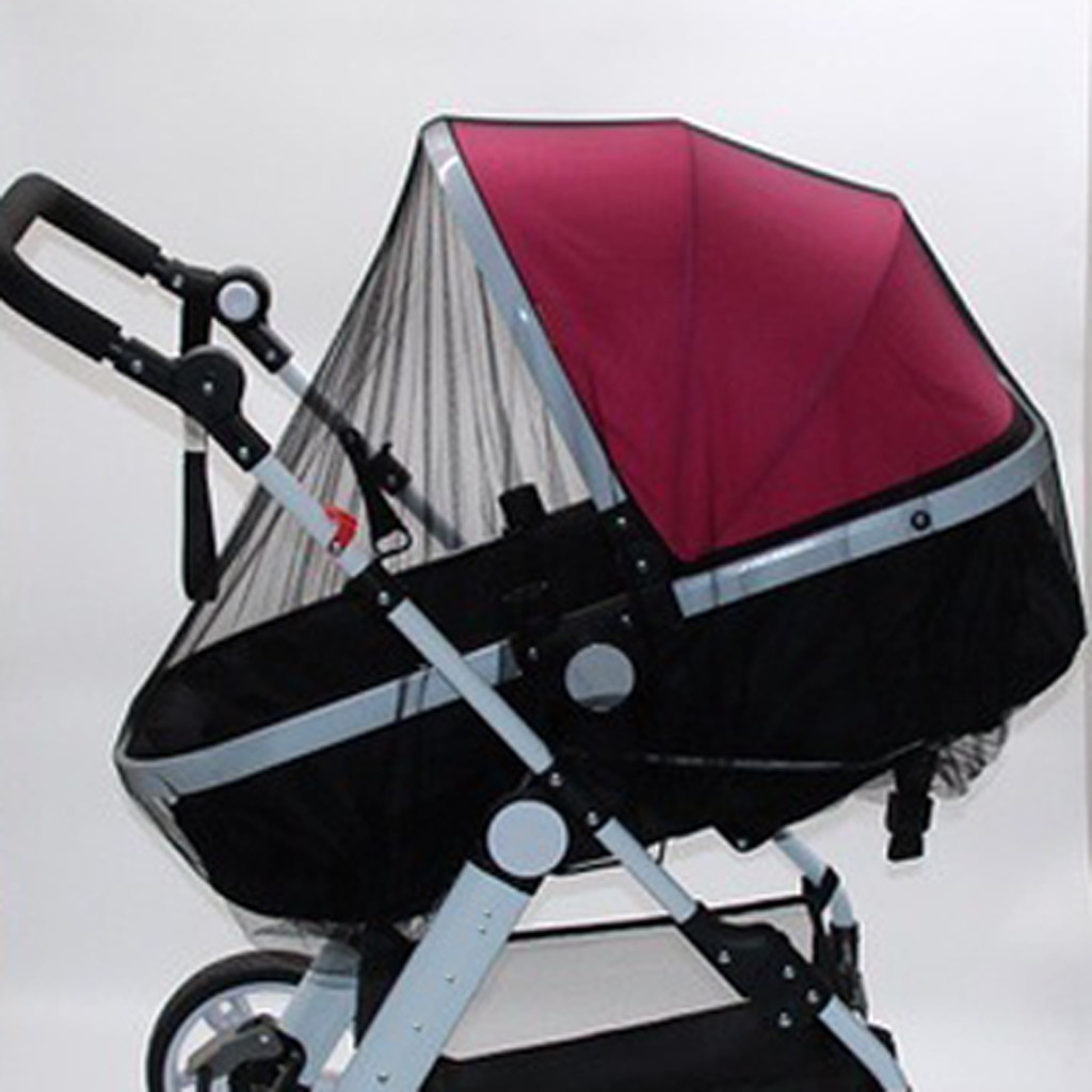 Mesh On The Stroller Infants Baby Stroller Accessories Mosquito Net Protection Newborn Kids Pushchair Fly Midge Insect Bug Cover