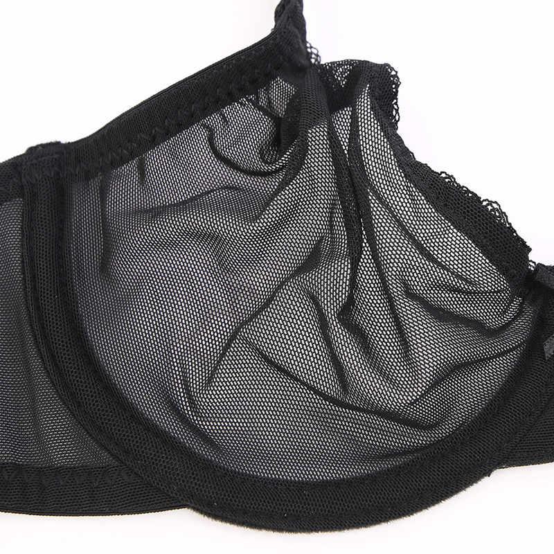 Нижнее белье Varsbaby женское, прозрачное, без подкладки, комплекты с бюстгальтером на косточках, 3 шт./лот