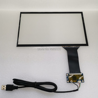 10.1 inch 10 point capacitieve touchscreen 16:9 universele USB-interface
