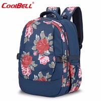 CoolBell Diaper Bag Baby Stroller Bags Large Capacity Backpack Stylish Nappy Bags With Changing Pad Mom Kids Baby Bags
