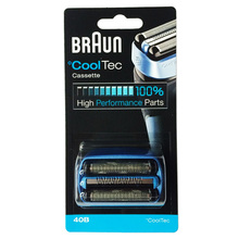 Braun 40B CoolTec Cassette Razor Replacement for Shavers (CT5cc CT4s CT2s)