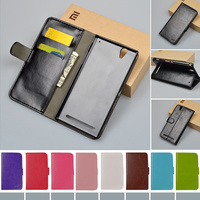 For Sony D5322 Flip PU Leather Case For Sony Xperia T2 Ultra Dual D5322 XM50h D5303 Cover Book style J&R Brand cases 9 colors