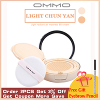 OMMO BB Cream Concealer Moisturizing Foundation Makeup Bare Whitening Face Beauty Makeup Lasting Korean Cosmetics High Quality