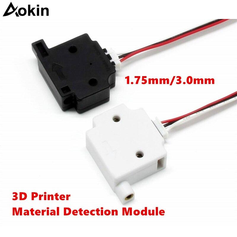 3D Printer Part Material Detection Module for Lerdge Board 1.75mm/3.0mm Filament Detecting Module Filament Monitor Sensor