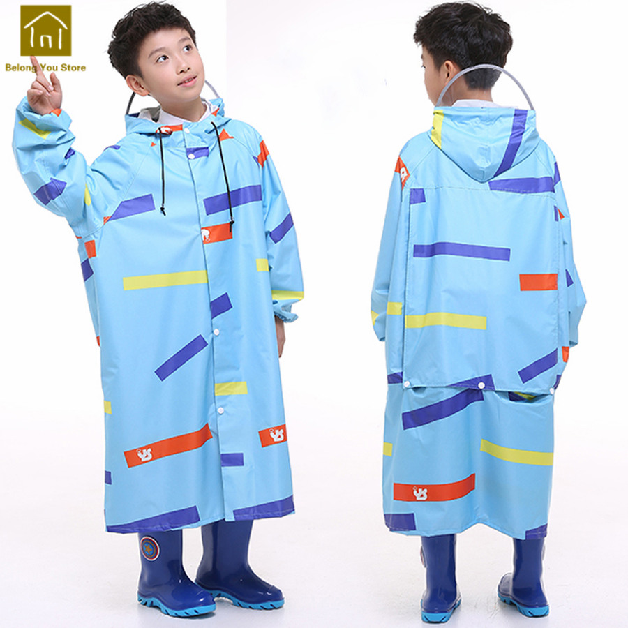 Poncho Raincoat Kids Rain Coat Girls Children Rainwear Hiking Camping Rain Coat Toddler Boy Raincoat Impermeable Rainwear LKR193