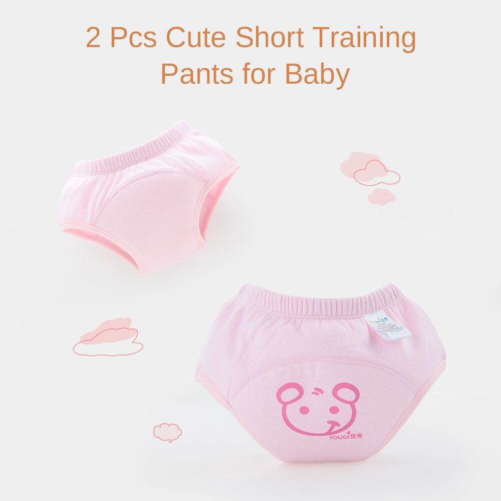2 Stks / partij Luiers Cartoon Baby Trainingsbroek Meisje Jongen - Luiers en zindelijkheidstraining - Foto 3