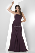 robe de soiree sexy vestido de festa longo 2015 free Shipping long purple cheap new party evening elegant Dress Formal gown
