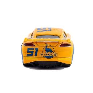 Image 4 - Disney Pixar Cars 2 & Cars 3 Dinoco Cruz Ramirez & Jackson Storm โลหะ Diecast รถ 1:55 หลวมยี่ห้อใหม่ในสต็อก