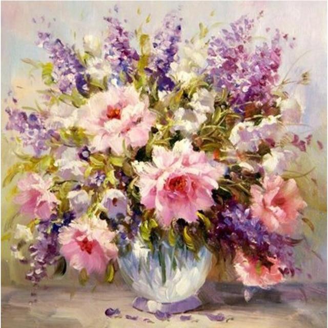 Stunning fiori dipinti ad olio pictures schneefreunde for Dipinti ad olio fiori