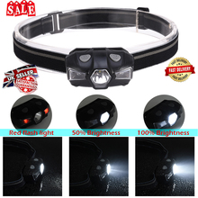 Protable LED Headlamp Running lamp IP67 Waterproof light Safe Children headlamp Sporting D40