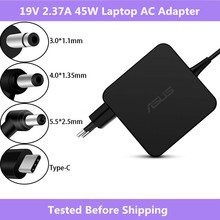19v 2.37A 45W 3.0x1.1mm / 4.0x1.35mm / 5.5x2.5mm / 20V 2.25A Type C Laptop AC Adapter Power Charger For Asus 45W Laptop Charger