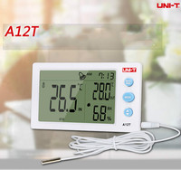 UNI-T A12T/A10T Digital Thermometer Hygrometer temperature Humidity Meter Alarm Clock Weather Station Indoor Outdoor instrument
