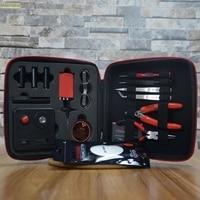 13 pz/set Kit FAI DA TE Borsa All-In-One Tool Kit FAI DA TE per le Sigarette Elettroniche strumenti FAI DA TE