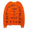 Autumn men hip hop t shirt pablo kanye west yeezy tee shirts streetwear women harajuku long sleeve yeezus tops rock kpop clothes