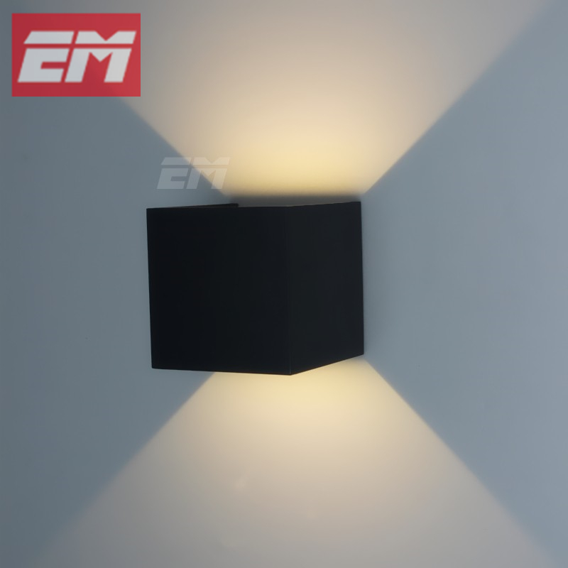 bathroom vanity lights up or down. Ip65 Waterproof Outdoor Wall Lamps 100 100mm Black Abs Up Down Bathroom Vanity Light Fixtures Up Or Down  Designing Bathroom
