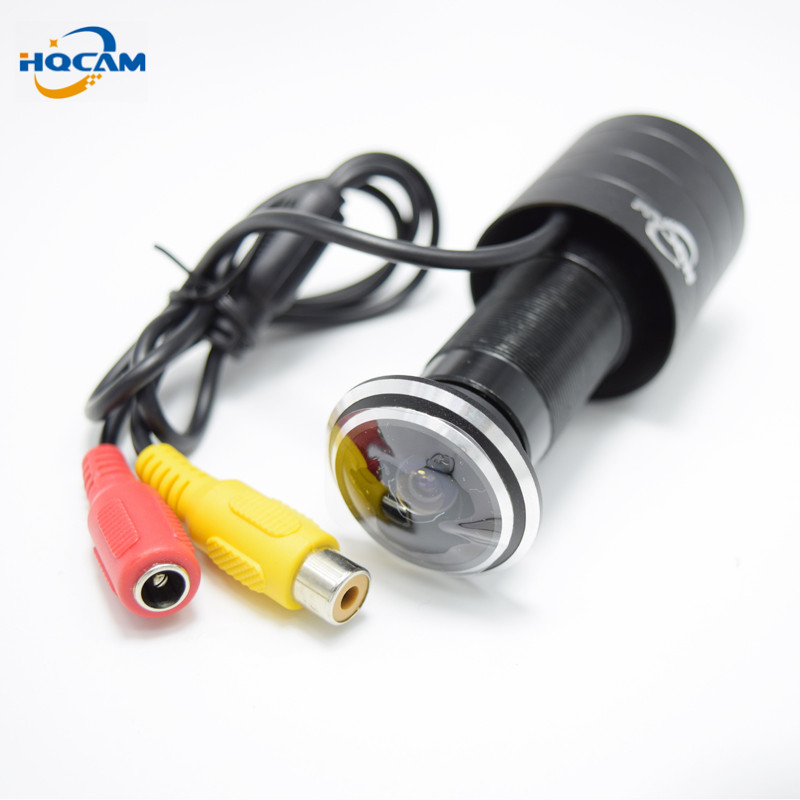 все цены на HQCAM Sony CCD 420TVL 170 Degree 1.78mm Fisheye Lens Wide Angle Lens Door eye Hole Camera mini camera ccd cctv  Fisheye camera онлайн